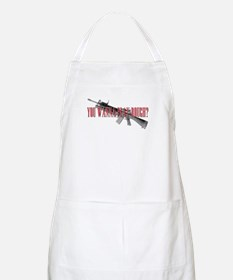 You Wanna Play Rough? Scarface Apron