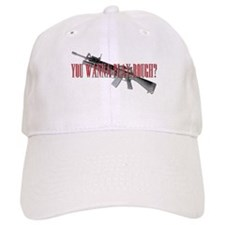 You Wanna Play Rough? Scarface Baseball Cap