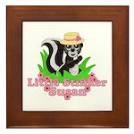 Little Stinker Susan Framed Tile
