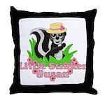 Little Stinker Susan Throw Pillow