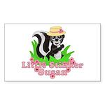 Little Stinker Susan Sticker (Rectangle 10 pk)