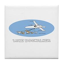 Luke Dogwalker Tile Coaster