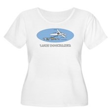 Luke Dogwalker Women's Plus Size Scoop Neck T-Shir
