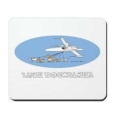 Luke Dogwalker Mousepad