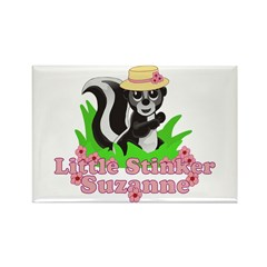 Little Stinker Suzanne Rectangle Magnet (10 pack)