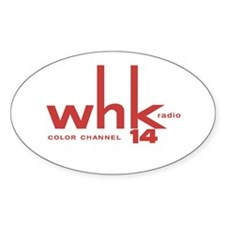 WHK Cleveland '61 - Oval Decal
