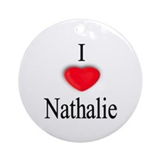 Nathalie Ornament (Round)