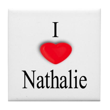 Nathalie Tile Coaster