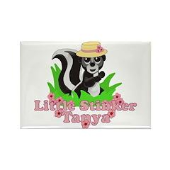Little Stinker Tanya Rectangle Magnet (100 pack)