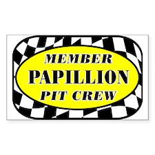 Papillion PIT CREW Decal