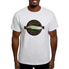 Light 40-inch Musky Club T-Shirt
