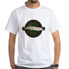 White 40-inch Musky Club T-Shirt