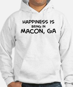 Happiness is Macon Hoodie