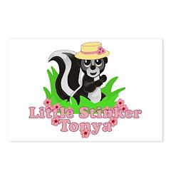 Little Stinker Tonya Postcards (Package of 8)