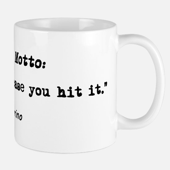 'My Golf Motto' Mug