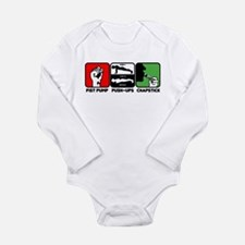 Jersey Shore FPC Long Sleeve Infant Bodysuit