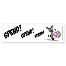 Spend Obama Spend, Bumper Sticker
