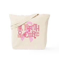 Hope Faith Cure Tote Bag