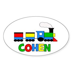 COHEN - Personalized TRAIN Decal