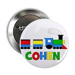 """COHEN - Personalized TRAIN 2.25"""" Button"""