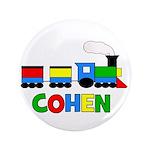 """COHEN - Personalized TRAIN 3.5"""" Button"""
