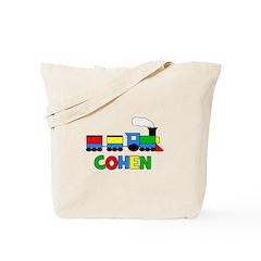COHEN - Personalized TRAIN Tote Bag