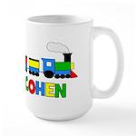 COHEN - Personalized TRAIN Large Mug