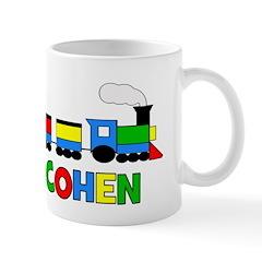 COHEN - Personalized TRAIN Mug