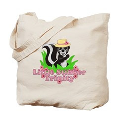 Little Stinker Trinity Tote Bag