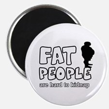 "Fat people 2.25"" Magnet (10 pack)"