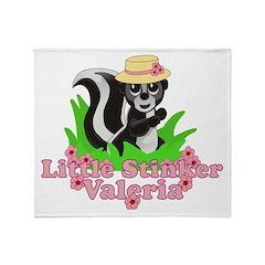 Little Stinker Valeria Throw Blanket