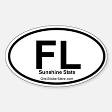 Florida Oval Decal