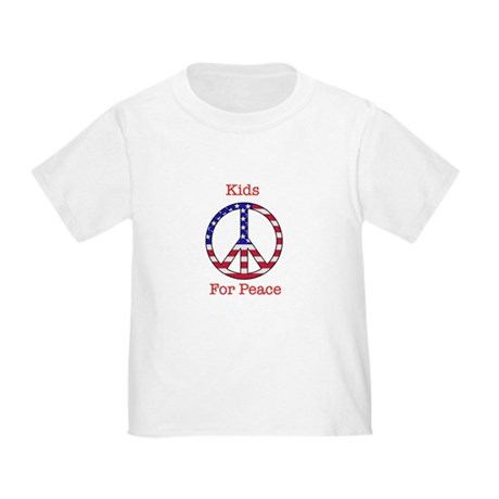 AWOP Toddler Kids for Peace T-Shirt