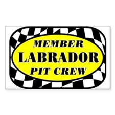 Labrador PIT CREW Decal