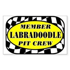 Labradoodle PIT CREW Decal