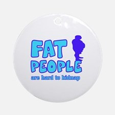 Fat people Ornament (Round)