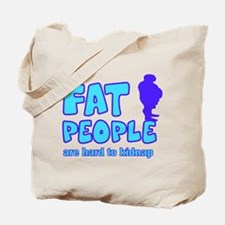 Fat people Tote Bag