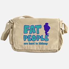 Fat people Messenger Bag