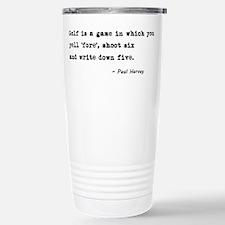 'Golf Quote' Travel Mug