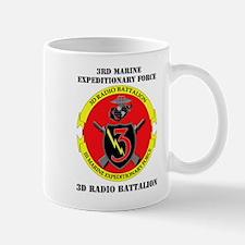 3rd Radio Battalion with Text Mug
