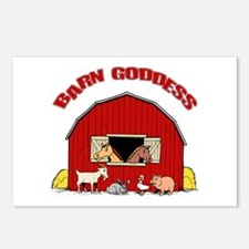 Barn Goddess Postcards (Package of 8)