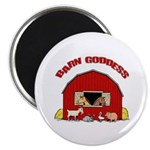 Barn Goddess Magnet