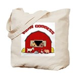 Barn Goddess Tote Bag