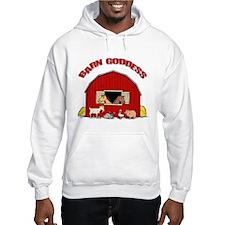Barn Goddess Hooded Sweatshirt