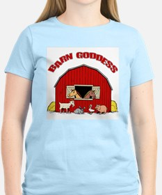 Barn Goddess Women's Pink T-Shirt