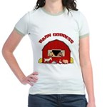 Barn Goddess Jr. Ringer T-Shirt