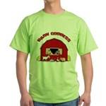 Barn Goddess Green T-Shirt