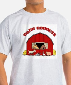 Barn Goddess Ash Grey T-Shirt