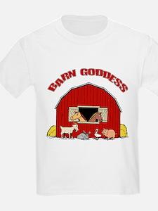 Barn Goddess Kids T-Shirt