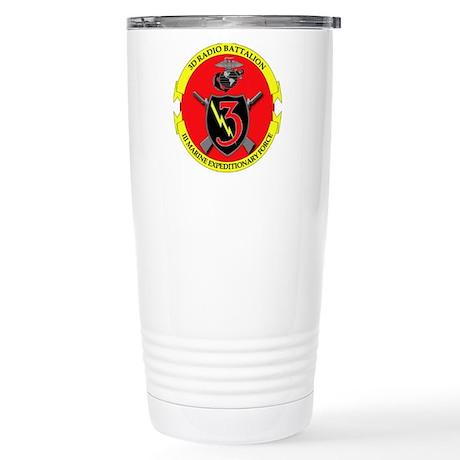 3rd Radio Battalion Stainless Steel Travel Mug